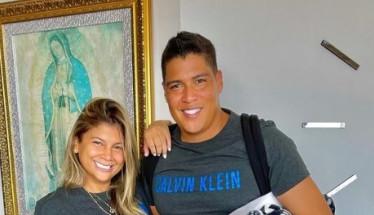 El cantante vallenato Rafa Pérez y su esposa Milagros Villamil se Vacunan